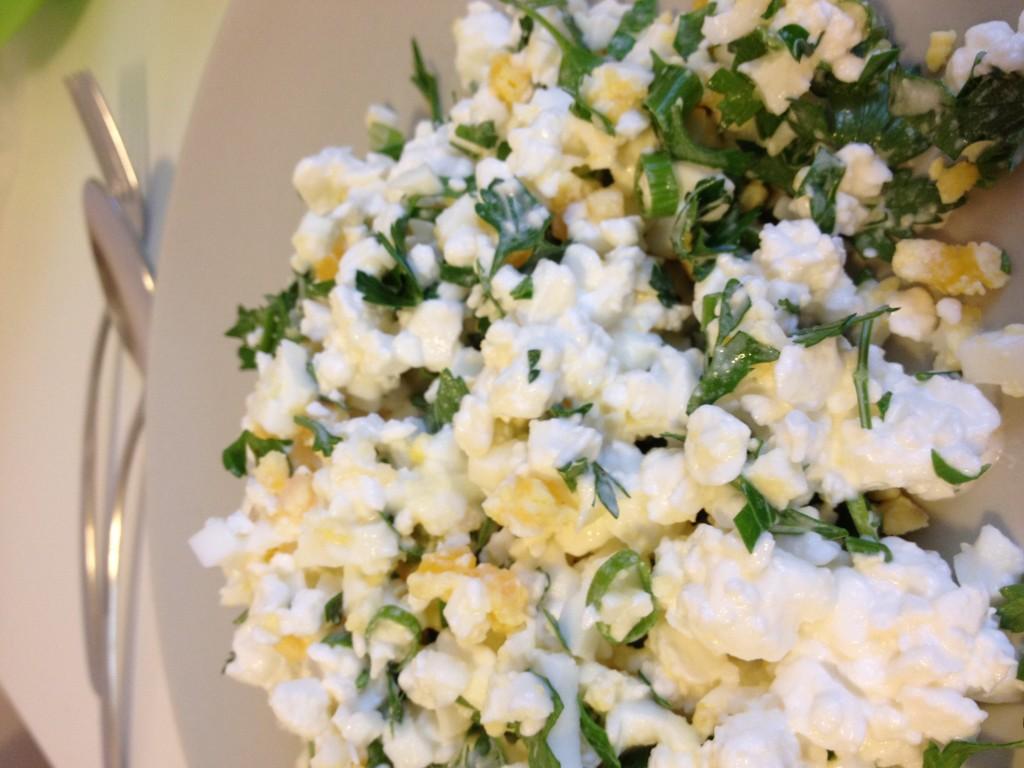 простой вкусный салат из яиц рецепты