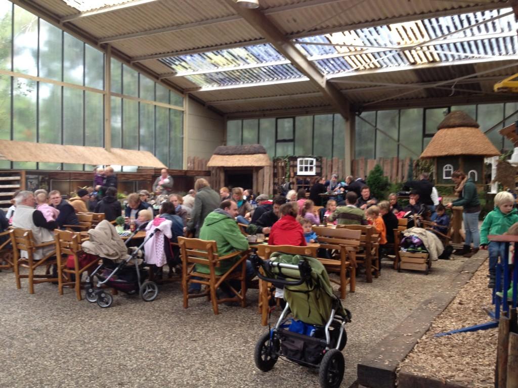 Кафе в природном парке. Германия.