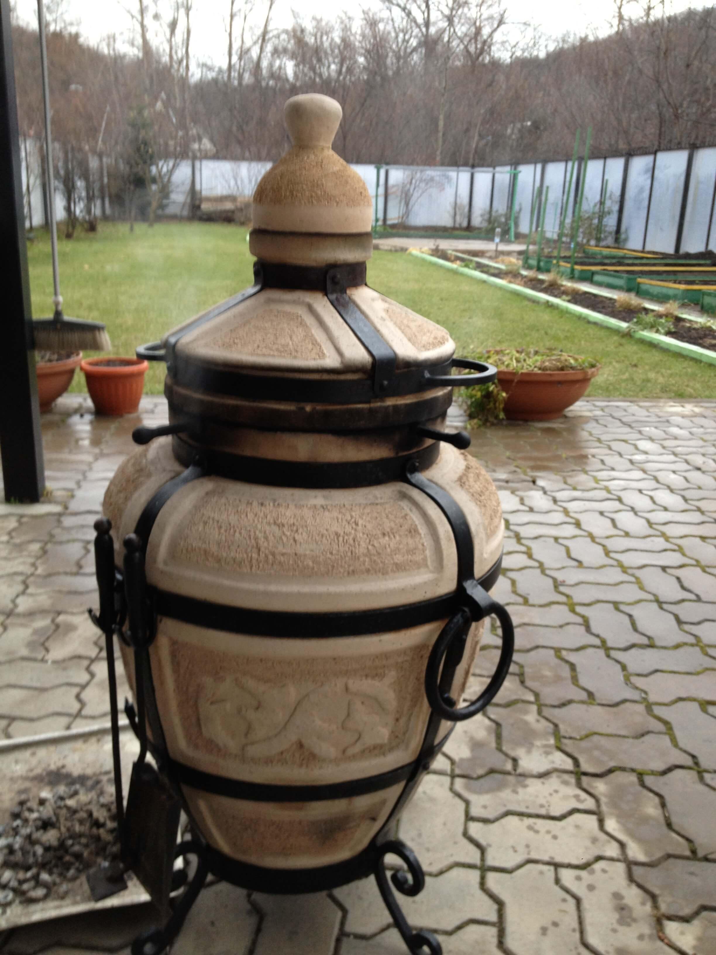 Восточный керамический тандыр Центр лечебного питания Negoloday.ru