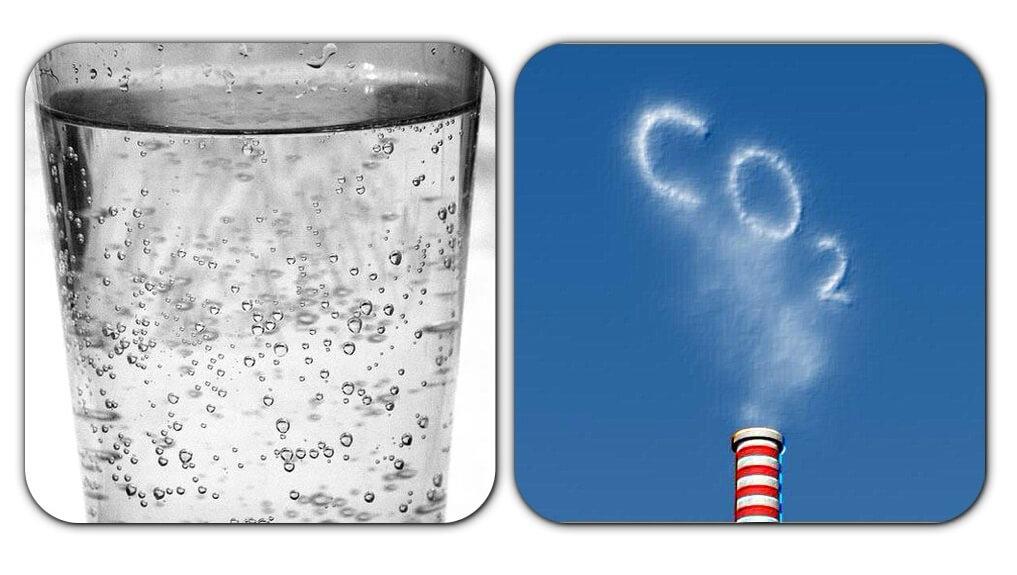 Газированная вода и углекислота