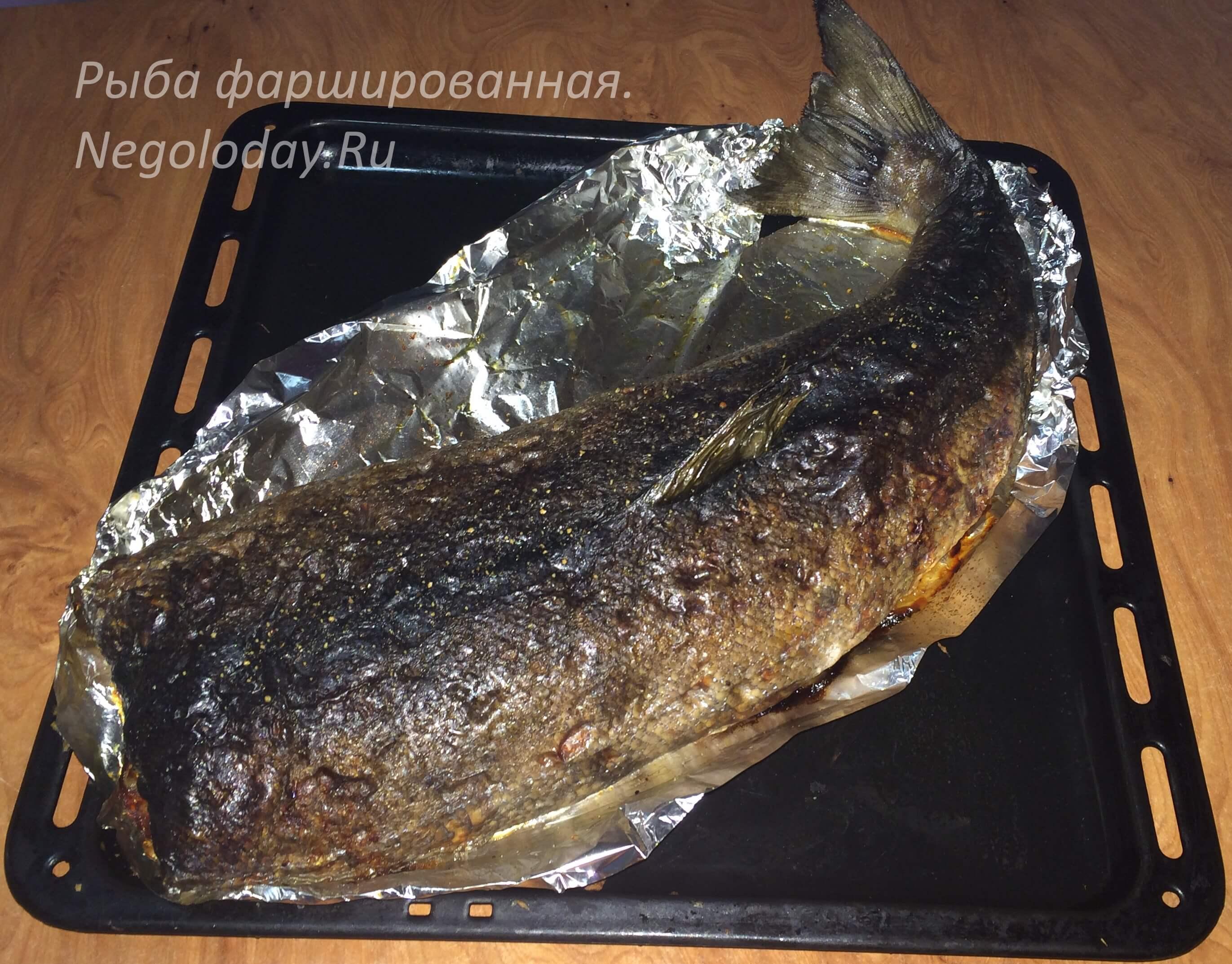 Что приготовить на романтический ужин? Рыба фаршированная не даст вам уснуть!