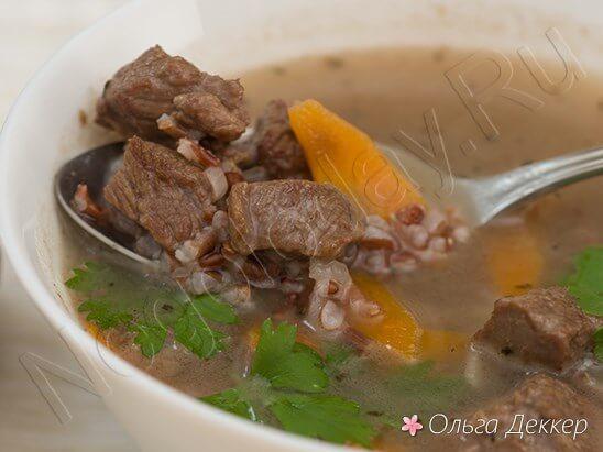 Настоявшийся суп с мясом