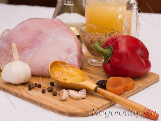 Продукты для пастромы из куриной грудки
