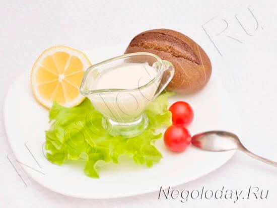 Низкокалорийный майонез без яиц