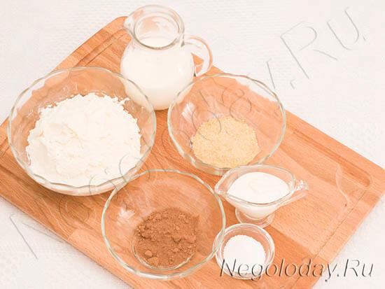 продукты для десерта с творогом и желатином