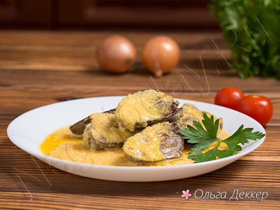 Вкусное блюдо из сердечек индейки для похудения